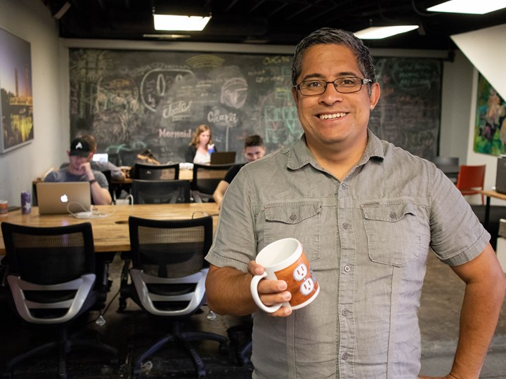 "Tony Torres is ""trying to help small businesses do what they do... better."""